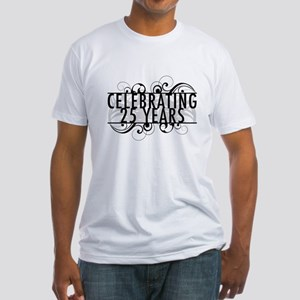 Celebrating 25 Years Fitted T-Shirt